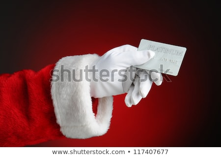 Consumatore carta di credito guanti mano Foto d'archivio © AndreyPopov