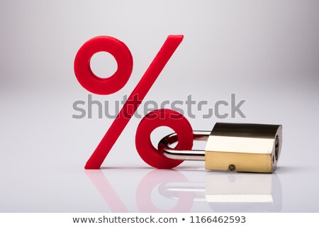 Lock Interest Rate Stock photo © AndreyPopov