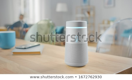 Smart Speaker With Voice Assistant Stock photo © AndreyPopov
