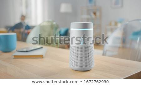 Inteligentes orador voz ayudante inalámbrica música Foto stock © AndreyPopov