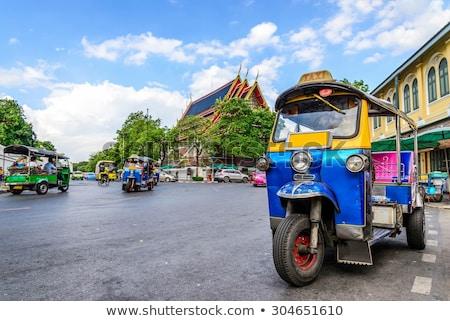 Tradycyjny taksówką Bangkok Tajlandia lata dzień Zdjęcia stock © bloodua