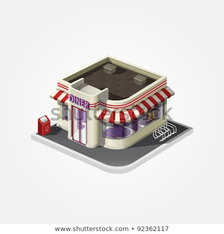 24 Hour Parking isometric icon vector illustration Stock photo © pikepicture