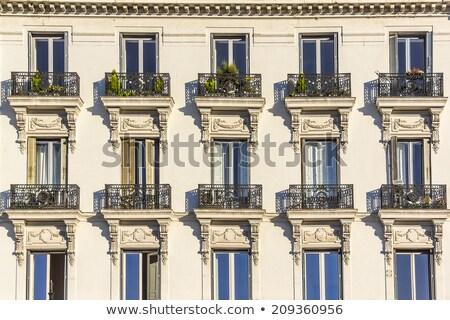 Klassiek gebouw Madrid oude treinstation vandaag Stockfoto © fxegs