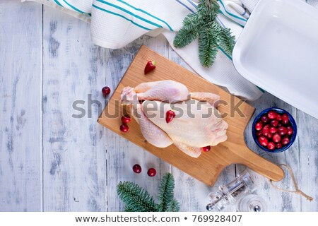 Damp chicken meat Stock photo © RuslanOmega