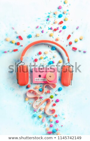 Candy and Music! Stock photo © solarseven