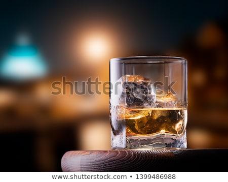 ガラス ウイスキー パノラマ 表示 東京 ストックフォト © dsmsoft