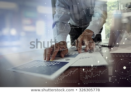 Business chart with calculator	 Stock photo © 4designersart