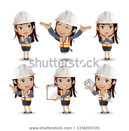 A wrongful female construction worker. Stock photo © photography33