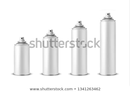 Aerossol lata céu ar spray proteção Foto stock © mikdam