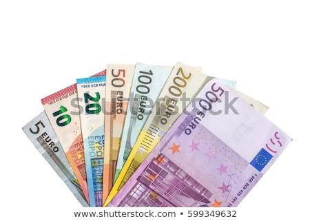 siker · pénzügy · Euro · jegyzetek · szó · üzlet - stock fotó © Ansonstock