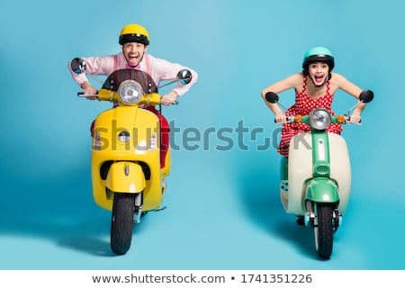 Woman on a moped Stock photo © photography33