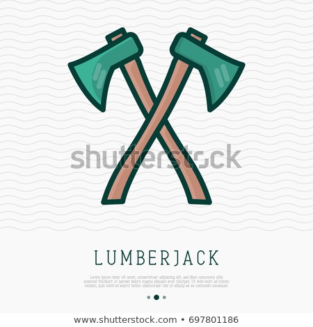 twee · vector · hout · werk · kleur · staal - stockfoto © freesoulproduction