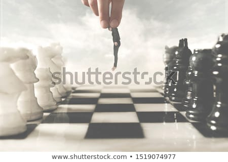 abstract chessboard Stock photo © Procy