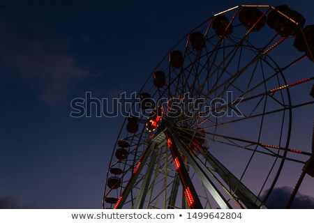 Wheel Below Dark Space Stock photo © idesign