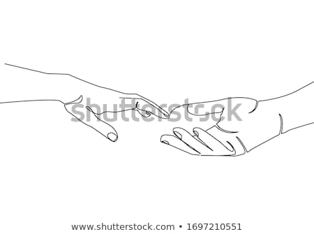 Drawing hands Stock photo © lirch