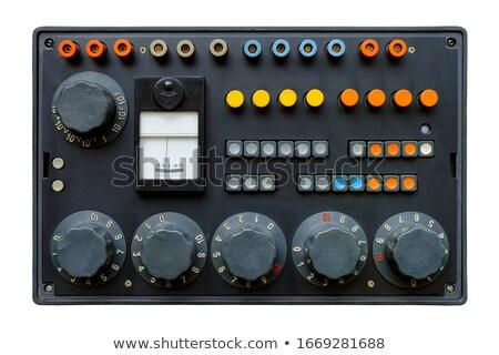 carburant · indicateur · voiture · trafic · instrument · essence - photo stock © ssuaphoto