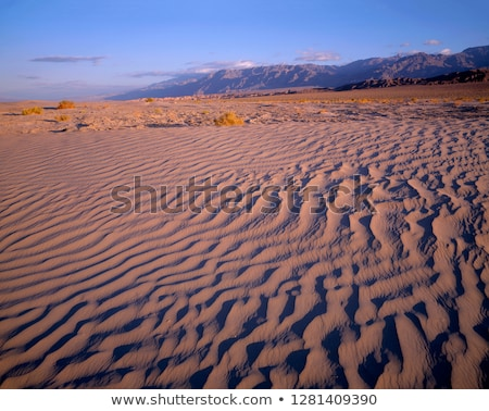 Mesquite Flat Dunes Grapevine Mountains Death Valley National Pa Stock photo © billperry