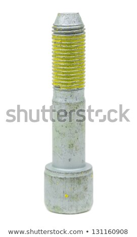One bolt threaded buttered yellow glue Stock photo © RuslanOmega
