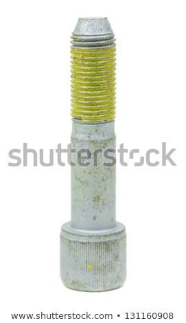 one bolt threaded buttered yellow glue stock photo © ruslanomega