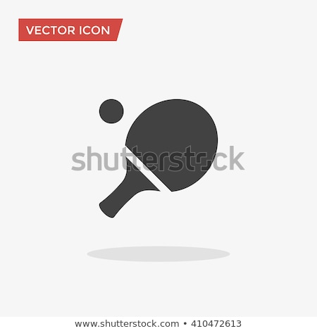 Vector icon pingpong Stock photo © zzve