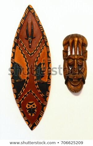African shield Stock photo © smuki