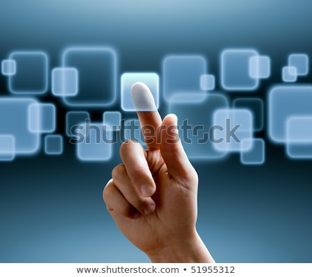 Botones multimedia con efecto pulsado Foto stock © italianestro