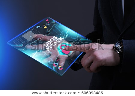 DDOS Attack.  Information Concept. Stock photo © tashatuvango