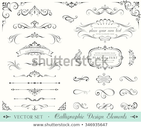 floral page decoration stock photo © ojal