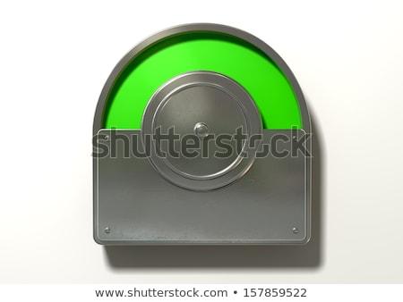 Wc index zöld kifejezéstelen rendszeres nyilvános Stock fotó © albund