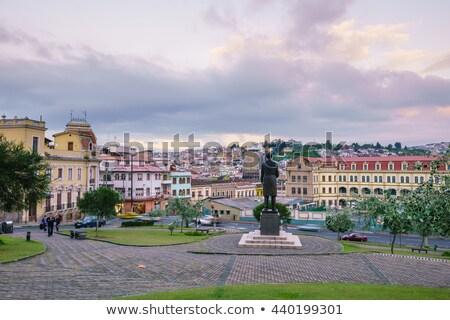 óváros történelmi központ kilátás Ecuador épület Stock fotó © pxhidalgo