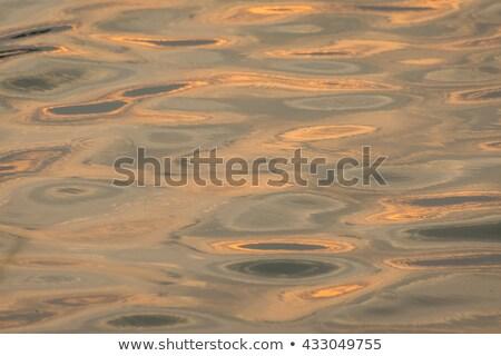 Güzel deniz güzel harmonik yapı yansımalar Stok fotoğraf © meinzahn