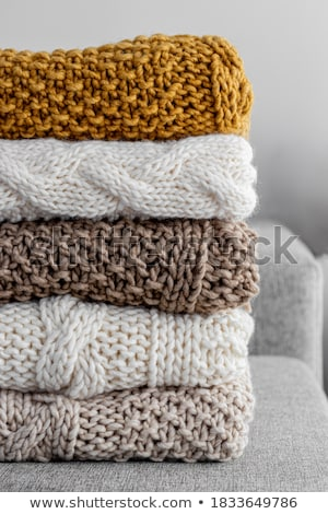 Crochê cobertor avó espaço Foto stock © Es75