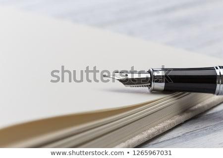 соглашение · чернила · пер · бизнеса · бумаги · Финансы - Сток-фото © juniart