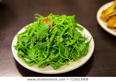 Stock photo: Chinese Food: Fried Small Fish with Pepper