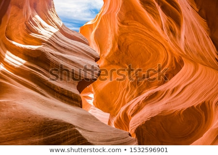 antelopes canyon near page the world famoust slot canyon in the antelope canyon navajo tribal par stock photo © meinzahn