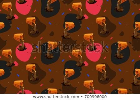 Chocolate bucket Stock photo © vanessavr
