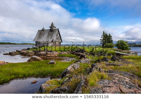 old abandoned house on a sea Stock photo © alexandre17