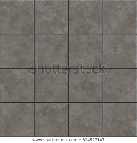 Dark Gray Decorative Pavement. Stock photo © tashatuvango