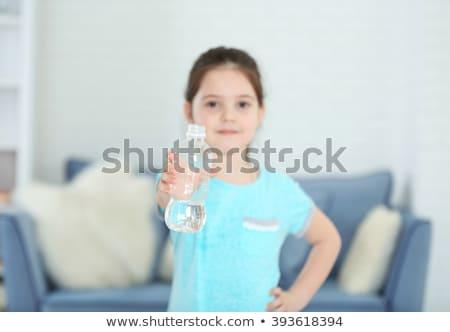 ребенка бутылку Kid колба воды Сток-фото © Dave_pot
