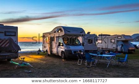 campsite stock photo © joyr