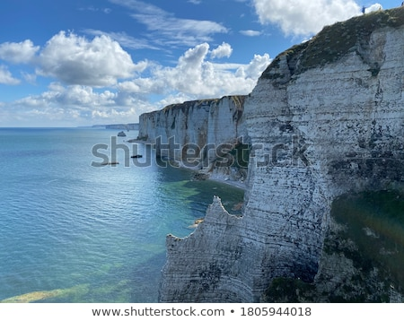 Coast with limestone cliffs Stock photo © olandsfokus