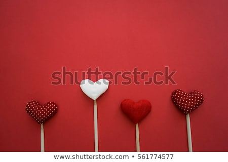 día · de · san · valentín · juguete · corazón · colgante · cuerda - foto stock © karandaev