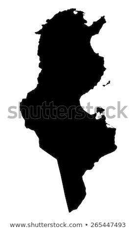 map of Tunisia Stock photo © mayboro1964
