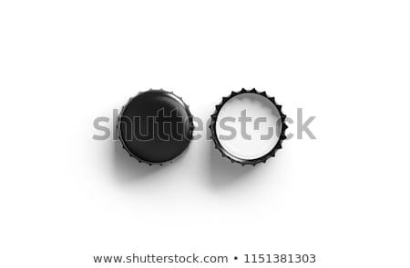 Bierfles plug witte bier Stockfoto © FOKA