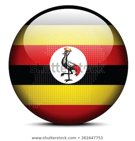 zászló · Uganda · vektor · 3D · stílus · ikon - stock fotó © istanbul2009
