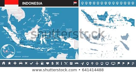 Alto detalhado vetor mapa Malásia navegação Foto stock © tkacchuk