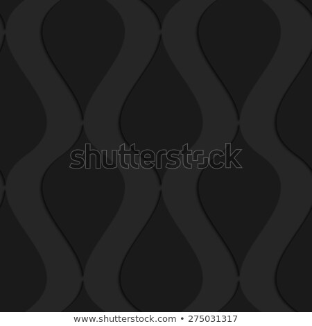 Black 3d wavy vertical connected drops Stock photo © Zebra-Finch