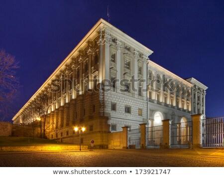 дворец Прага министерство иностранный природы Сток-фото © CaptureLight