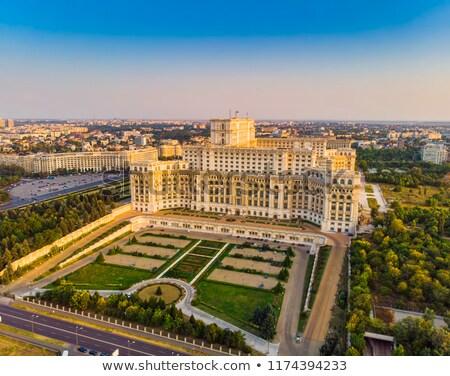 парламент дворец Бухарест Румыния здании архитектура Сток-фото © igabriela
