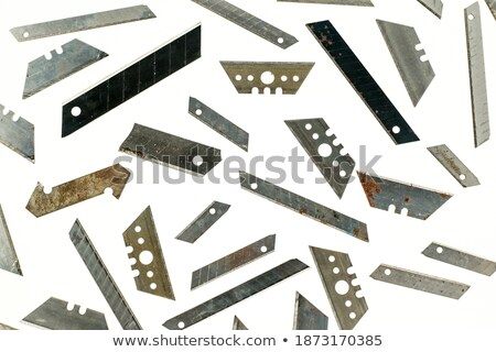 Old dirty cutter knife Stock photo © Taigi